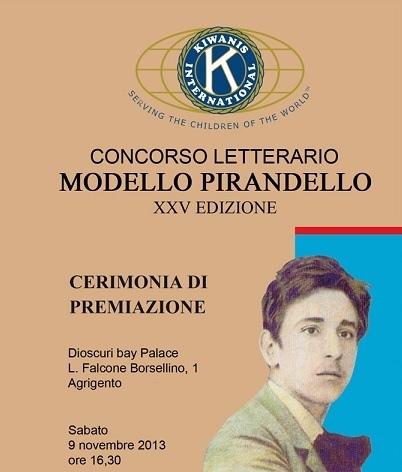 Premiati i vincitori della 25^ edizione del Concorso letterario Modello Pirandello